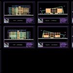 پایان نامه خانه علوم و فناوری - مطالعات معماری - رساله خانه علوم و فناوری - طرح نهایی معماری