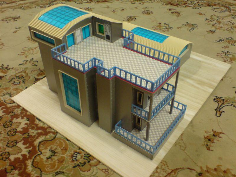 ماکت ویلایی - ماکت ویلا - حجم ویلا - سه بعدی ویلا - ساخت ماکت ویلایی - نقشه ویلا - ساختمان ویلایی - ویلا