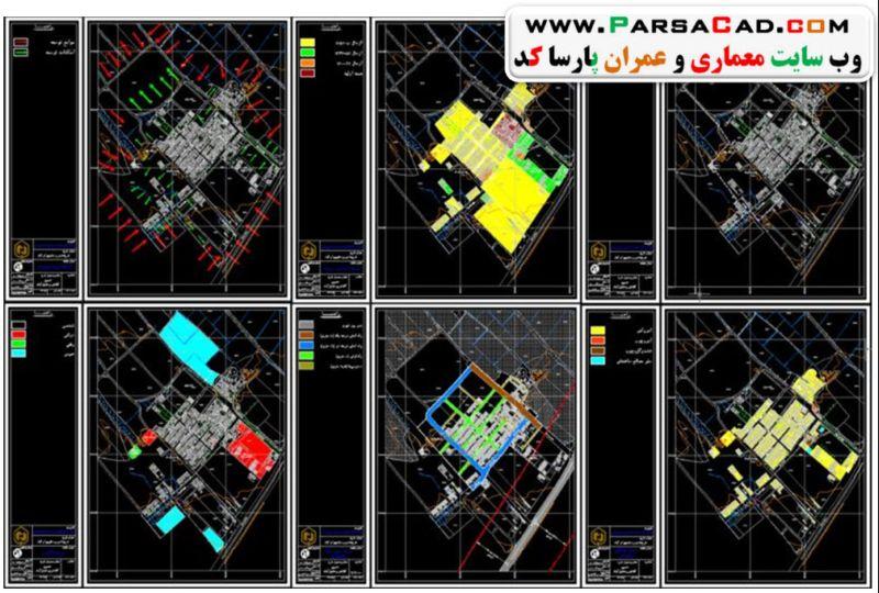 نقشه روستای بهرام آباد اسلامشهر,پروژه روستای اسلامشهر,پروژه روستا در اسلامشهر,نقشه اتوکدی اسلامشهر