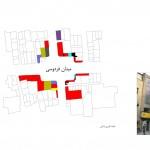 تحلیل میدان فردوسی تهران,پروژه تحلیل فضای شهری میدان های تهران,پروژه تحلیل میدان فردوسی تهران