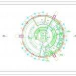 برج تجاری ـ مسکونی - نقشه برج تجاری ـ مسکونی - پلان برج تجاری ـ مسکونی - نمونه موردی برج تجاری ـ مسکونی