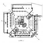 نقشه رستوران - پلان رستوران - نمونه موردی رستوران - مطالعات رستوران - رساله رستوران