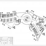 آکادمی هنرهای زیبا - نقشه آکادمی هنرهای زیبا - نمونه موردی آکادمی هنرهای زیبا