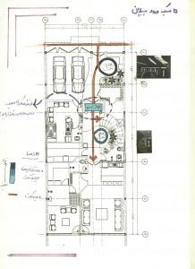 تحلیل و بررسی پلان ها,تحلیل و بررسی بنای مسکونی,تجزیه و تحلیل بنا,تحلیل بنای مسکونی,بررسی بناهای مسکونی,نقذ بنا,تحلیل بنا