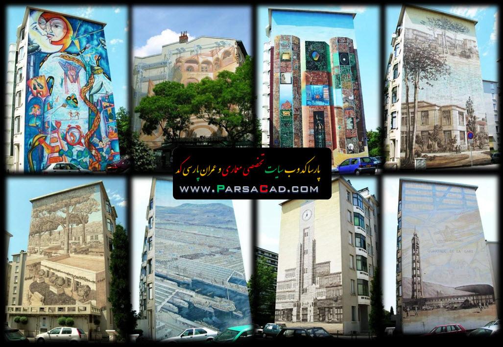 نقاشی در ایران,نقاشی در معماری,نقاشی و رنگ در معماری,نقاشی و معماری,رنگ در معماری,رنگ و معماری,مقاله در مورد نقاشی و رنگ در معماری,تاریخچه نقاشی و رنگ در معماری ایران,نقاشی نمای مسکونی,رنگ و نقاشی روی نمای ساختمان,رنگ در نمای ساختمان,نمای ساختمان