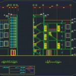 پلان های اتوکدی ساختمان مسکونی,پلان اتوکدی ساختمان بتنی,نقشه ساختمان بتنی و فلزی