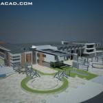 پرسپکتیو شیرخوارگاه - سه بعدی شیرخوارگاه - طراحی شیرخوارگاه - پلان های معماری شیرخوارگاه