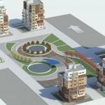 طراحی مجتمع مسکونی - طراحی شهرک مسکونی - طراحی مجتمع های مسکونی