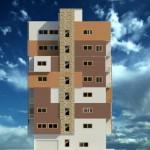 رندر از مجتمع مسکونی - رندر از شهرک مسکونی - رندر از پرسپکتیو مجتمع مسکونی