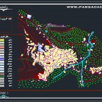 پروژه روستا کامل,پروژه روستای کنگ,نقشه های روستای کنگ,پروژه روستا با نقشه ها,پروژه کامل روستا با نقشه های اتوکدی,پروژه های روستا