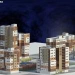 دانلود پرسپکتیو مجتمع مسکونی,پرسپکتیو از پروژه طرح پنج معماری,دانلود پروژه مجتمع مسکونی برای طرح 5 معماری