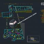 پلان اتوکدی شیرخوارگاه - نقشه شیرخوارگاه - دانلود نقشه شیرخوارگاه - دانلود پلان شیرخوارگاه