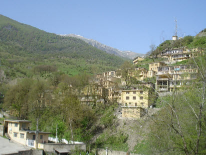 روستای ماسوله - تصویر روستای ماسوله - نقشه های روستای ماسوله