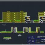 دانلود پلان اتوکدی وبلا - دانلود نقشه های معماری - پلان معماری