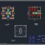 دانلود پلان های معماری - پلان اتوکدی معماری - معماری نقشه