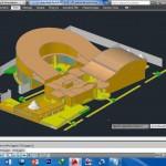 حجم دانشکده معماری - سه بعدی دانشکده معماری - 3d دانشکده معماری