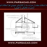 محل عایق حرارتی بام - تاثیر عایق حرارتی - میزان تاثیر عوامل اقلیمی بر ساختمان