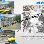 فضاهای پر و خالی میدان تجریش - عناصر شناخت سایت میدان تجریش -