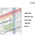 تحلیل سایت در منطقه 5 تهران - بلوار جنت آباد شمالی,سایت برای طراحی مدرسه در تهران,سایت برای طراحی مدرسه در منطقه 5 تهران