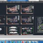 طرح اتوکدی مدرسه,نقشه مدرسه 12 کلاسه,دانلود نقشه مدرسه 12 کلاسه,دانلود نقشه مدرسه ابتدائی و راهنمائی