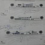 کرکسیون نماهای مدرسه - نمای مدرسه ابتدائی و راهنمائی