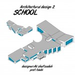 چاپ هولوگرام طرح مدرسه بر روی سی دی برای ارائه اطلاعات طرح