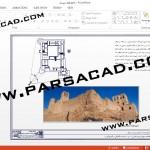 نقشه قلعه سیراف,پلان قلعه سیراف,تصویر های قلعه سیراف,تصویر های پردیس سیراف,پلان معماری قلعه سیراف بوشهر