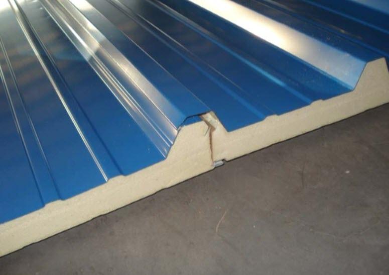 اورلب کردن 2 پانل سقفی و آبندی مناسب