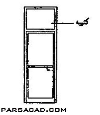 آستانه در,کتیبه در,اجزای تشکیل دهنده در,مقاله معماری در مورد در و پنجره,تحقیق معماری درباره در و پنجره ساختمان,پروژه عناصر و جزئیات ساختمان