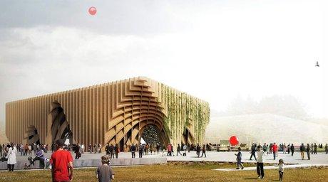 غرفه فرانسه در نمایشگاه معماری اکسپو میلان 2015