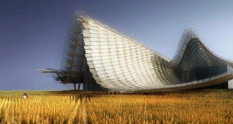 غرفه چین در نمایشگاه معماری اکسپو میلان 2015