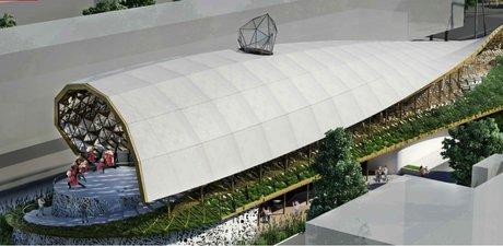 غرفه ایران در نمایشگاه معماری اکسپو میلان 2015