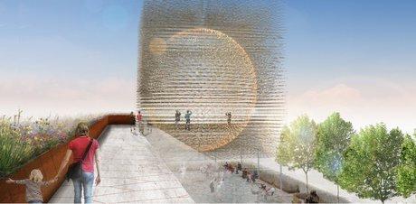 غرفه انگلیس در نمایشگاه معماری اکسپو میلان 2015