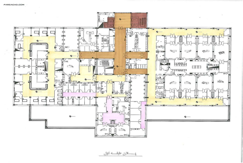 نقشه های بیمارستان لاله تهران