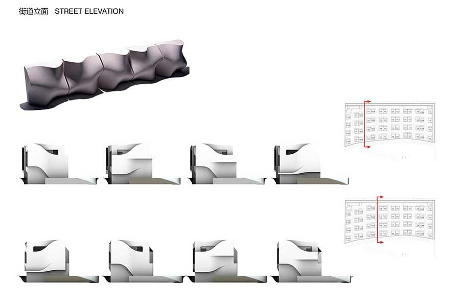پرسپکتیو ویلا,سه بعدی نمای ویلایی,حجم برای طراحی ویلا,فرم و کانسپت ویلا