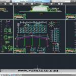 دانلود رایگان نقشه استخر,نقشه های سازه استخر سرپوشیده,جزئیات عمومی طراحی استخر,معماری,پارساکد,parsacad,parsacad.com,parsacad.ir,