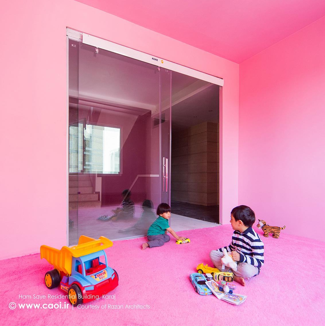 اتاق بازی کودکان,طراحی داخلی مجتمع مسکونی همسایه,دکوراسیون داخلی مجتمع مسکونی,