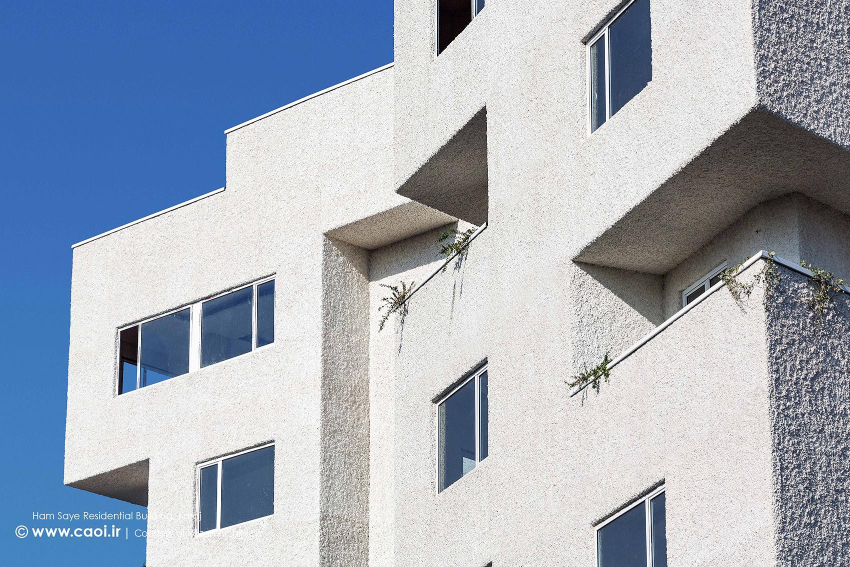 نمای ساختمان مسکونی همسایه,نمای مجتمع مسکونی,طراحی نمای مجتمع مسکونی