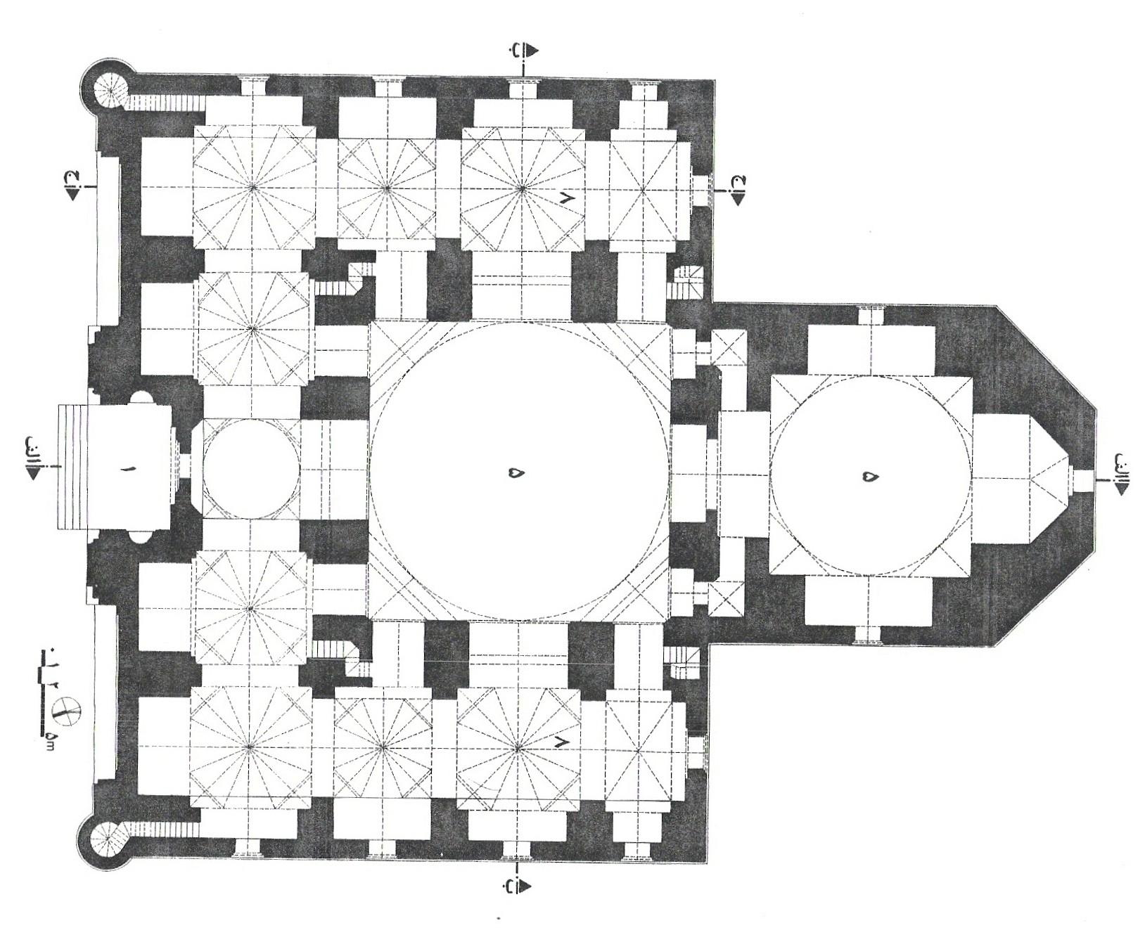 پلان مسجد کبود تبریز,نقشه مسجد کبود تبریز,نقشه های مسجد کبود تبریز