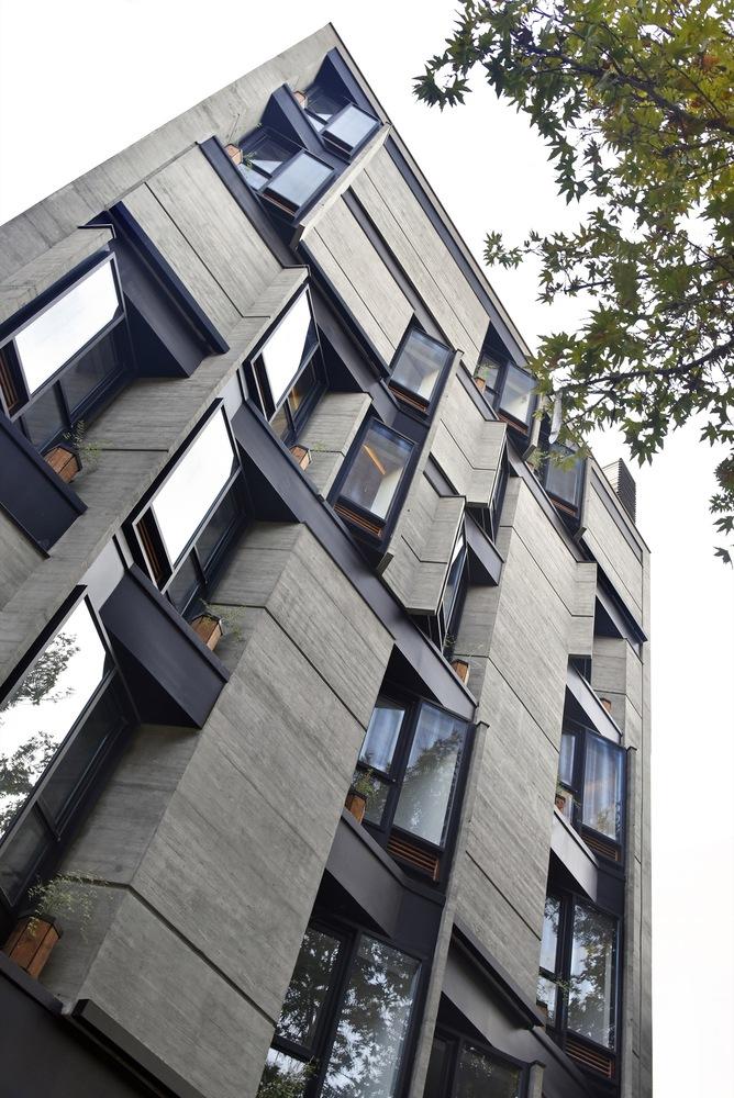 طراحی نمای ساختمان مسکونی,معماری,ساختمان,آپارتمان مسکونی,طراحی,طراحی نما,نقشه ساختمان مسکونی,پارساکد,parsacad