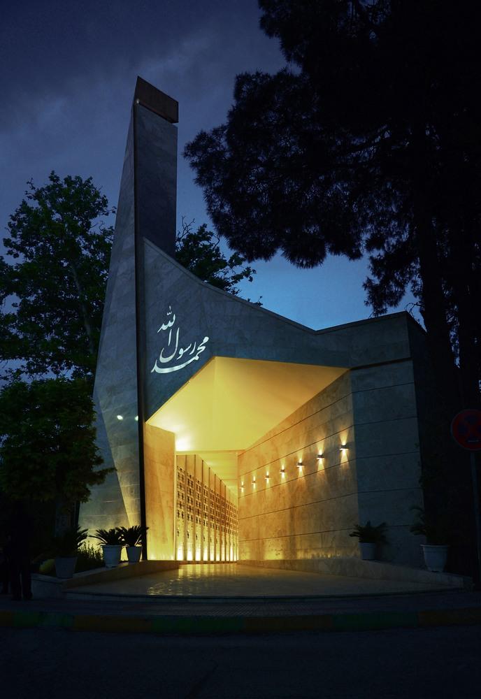"""معماری """"مسجد محمد رسول الله"""" طرحی مدرن بر پیکره ای سنتی"""