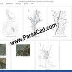 تحلیل سایت باغ کتاب,موقعیت و تحلیل سایت طراحی باغ کتاب در استان مازندران