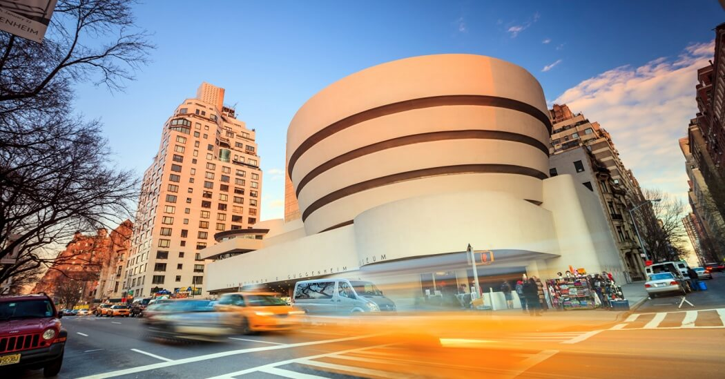 موزه گوگنهایم نیویورک شاهکار معماری فرانک لوید رایت,نقشه و پلان موزه گوگنهایم
