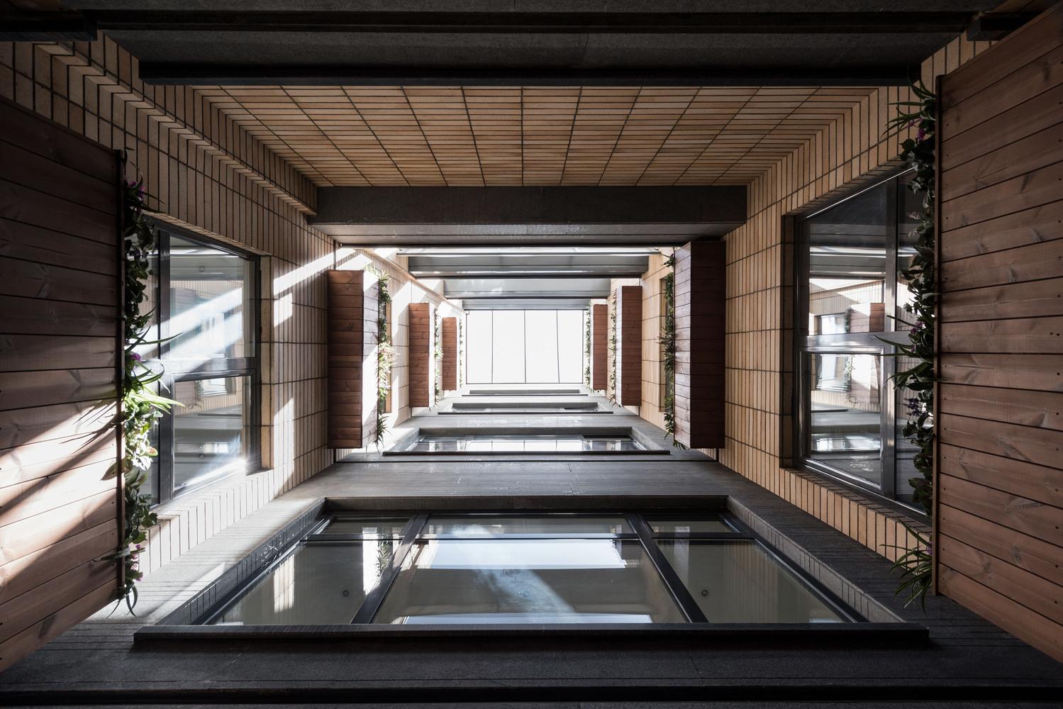 معماری,مجتمع مسکونی بوستان,تهران,طراحی,نقشه مجتمع مسکونی,ساختمان مسکونی بوستان,ساختمان,پلان مجتمع مسکونی,پلان معماری,پروژه معماری