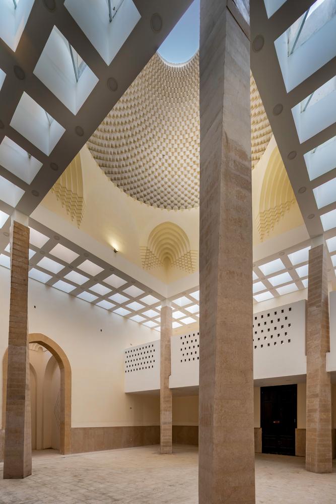 طراحی داخلی مسجد
