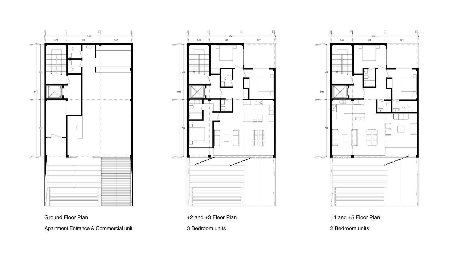 معماری ساختمان مسکونی سعادت آباد,معماری,معماری داخلی,آپارتمان مسکونی,نقشه معماری,پلان معماری,طراحی داخلی,دکوراسیون داخلی,نمای آجری,نمای ساختمان,پارساکد