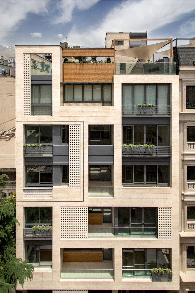 معماری مجتمع مسکونی خزر در تهران,طراحی مجتمع مسکونی,معماری,نقشه معماری,پلان معماری,نقشه مجتمع مسکونی,پلان مجتمع مسکونی