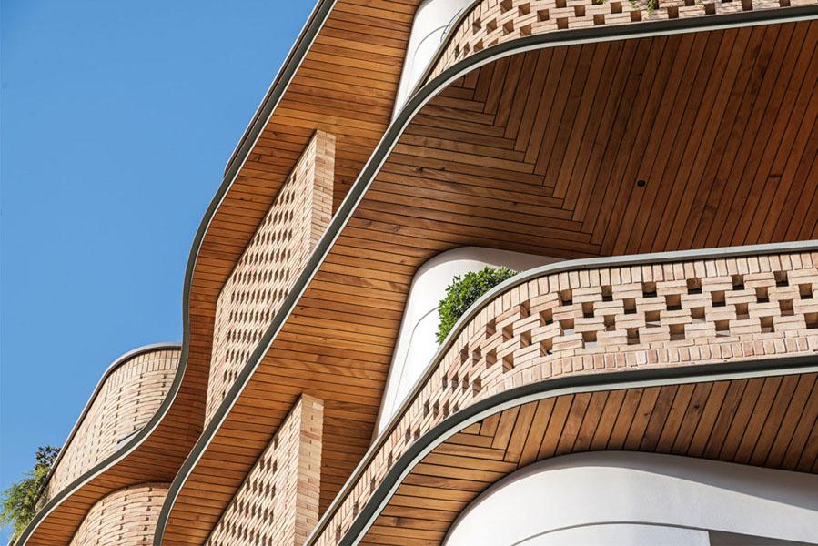 ساختمان مسکونی پارک، اثر بهزاد حیدری، شیرین صمدیان، مهندسان مشاور طرح و معماری پرگار